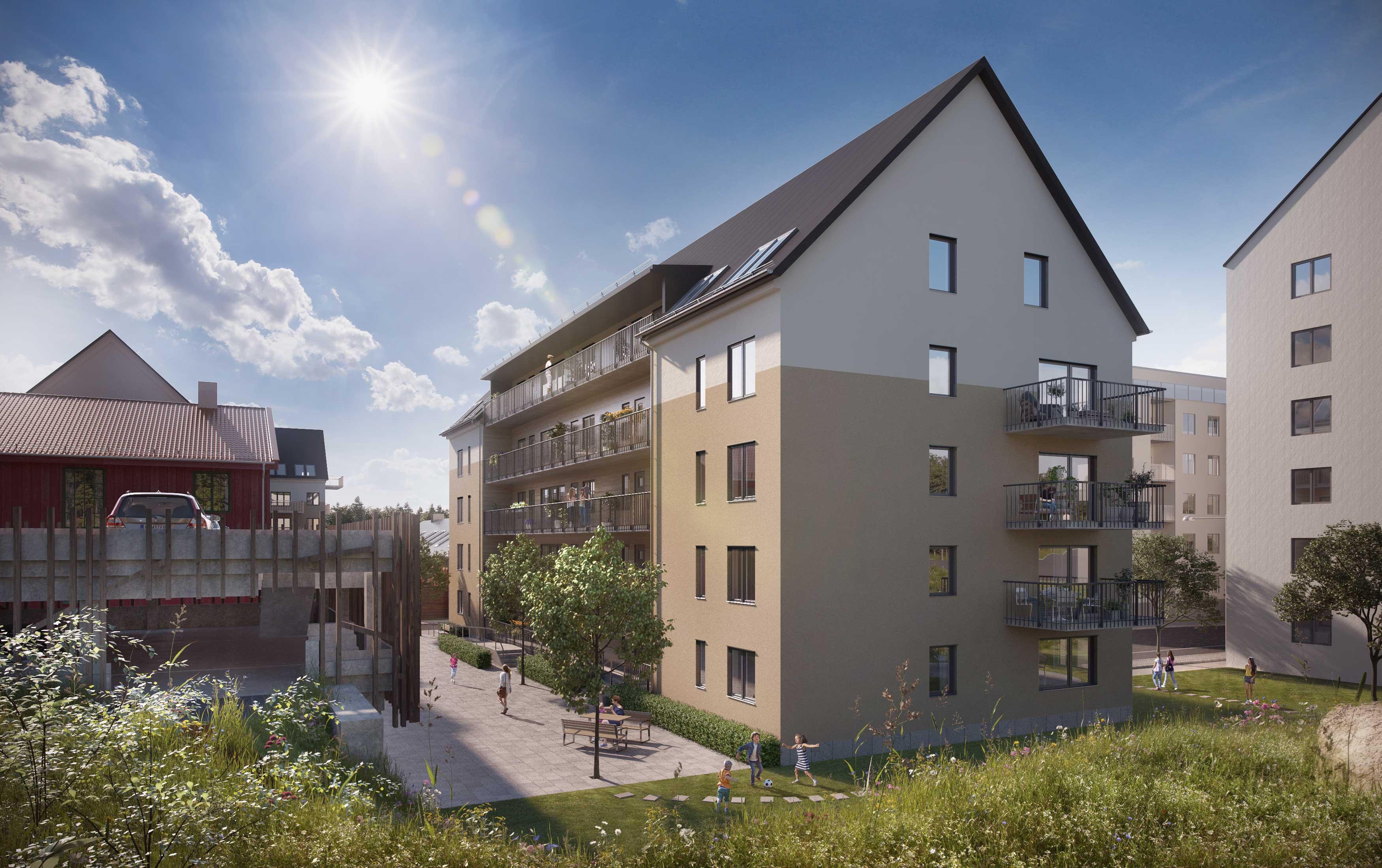 Klarsignal för nya bostäder i Regementsstaden