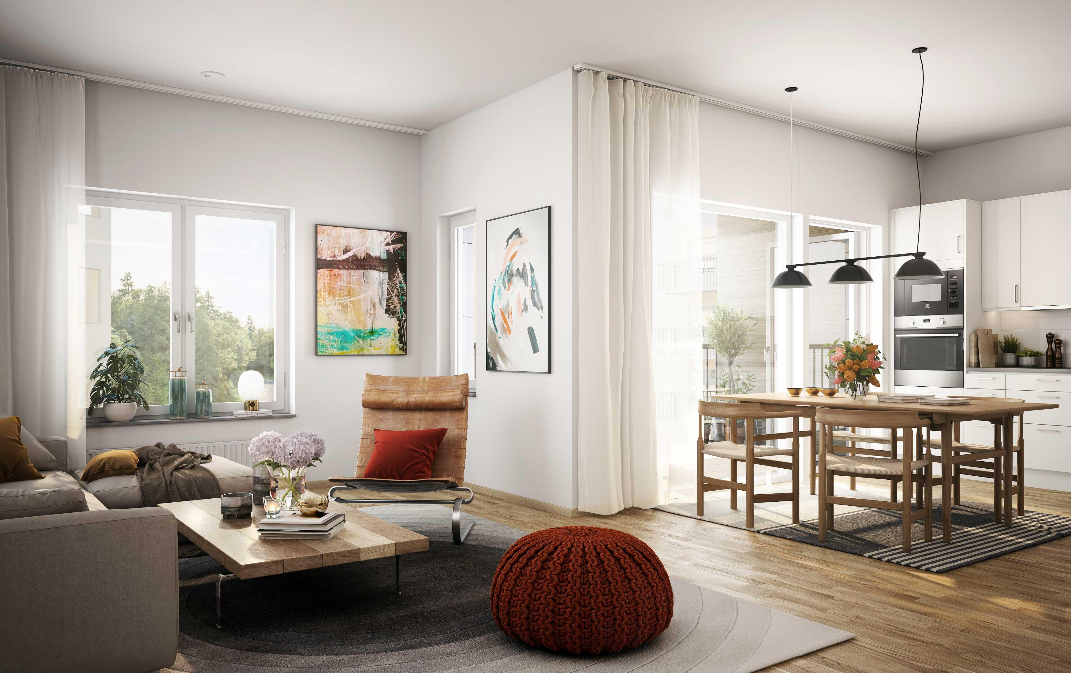 Yteffektiva lägenheter