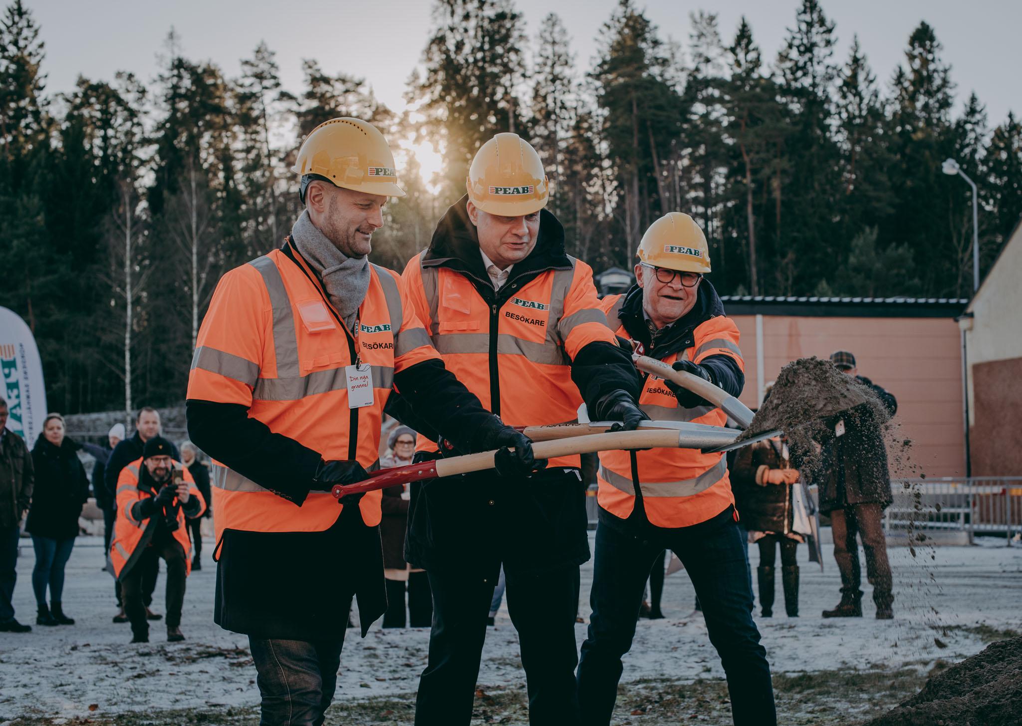 Startskottet för Borås nya stadsdel